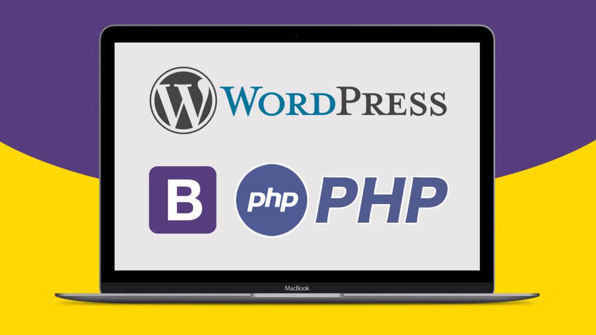 初心者の文系でも出来た!WordpressのインストールからBootstrapを使ったテーマを制作する手順