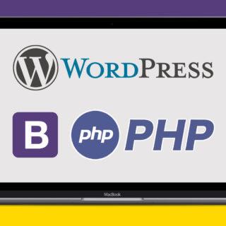 【質問し放題】初心者の文系でも出来た!Wordpress+Bootstrapインストール+テーマ+プラグイン作成の全手順を完全解説